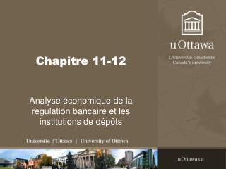 Chapitre 11-12