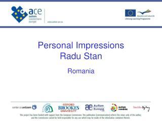 Personal Impressions  Radu Stan