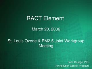 RACT Element