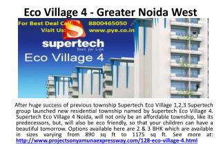 Residential Property on Yamuna Expressway: www.pye.co.in
