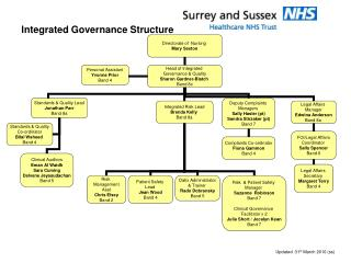 Integrated Governance Structure