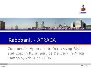 Rabobank - AFRACA