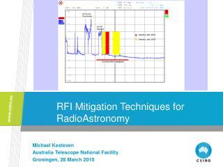 RFI Mitigation Techniques for RadioAstronomy