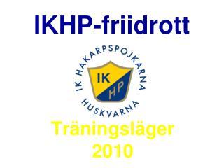 IKHP-friidrott