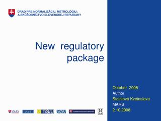 New   regulatory package