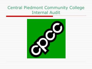 Central Piedmont Community College Internal Audit
