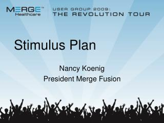 Stimulus Plan