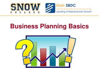 Business Planning Basics