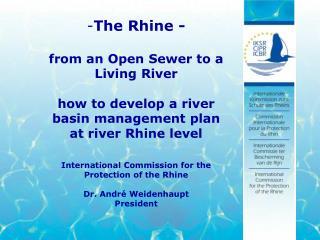 The Rhine, a European river