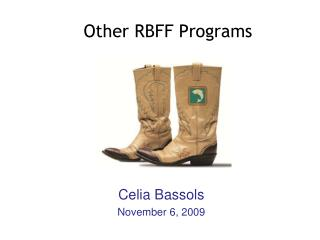 Other RBFF Programs