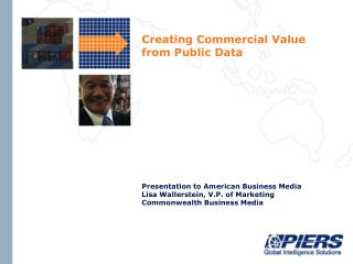 Creating Commercial Value from Public Data