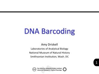 DNA Barcoding