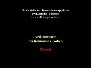 Arti suntuarie tra Romanico e Gotico Gli smalti