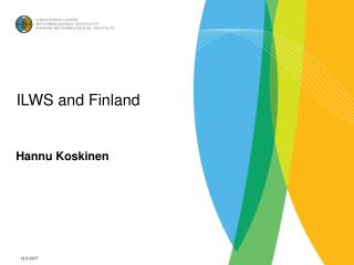 ILWS and Finland