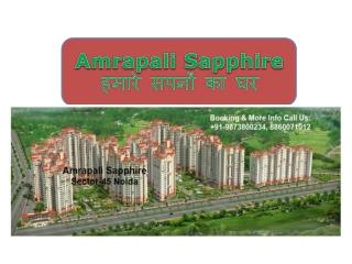 amrapali sapphire@...........@amrapali sapphire Noida projec