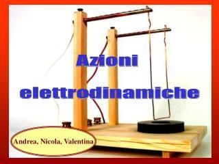 Azioni  elettrodinamiche
