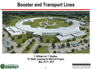 Booster and Transport Lines