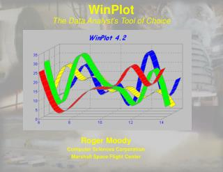 WinPlot The Data Analyst's Tool of Choice