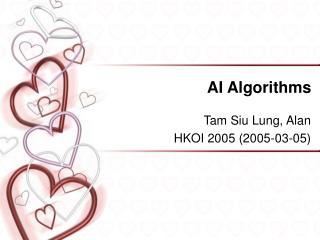 AI Algorithms