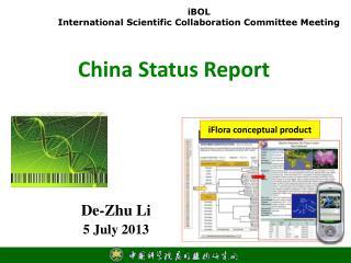 China Status Report