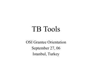 TB Tools