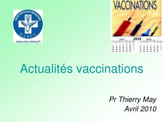 Actualités vaccinations