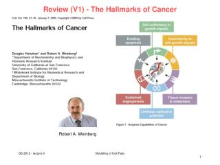 Review (V1) - The Hallmarks of Cancer