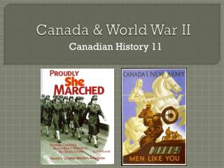 Canada & World War II