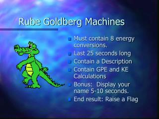Rube Goldberg Machines