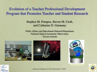 Evolution of a Teacher Professional Development Program that Promotes Teacher and Student Research