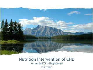 Nutrition Intervention of CHD