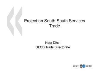 Project on South-South Services Trade