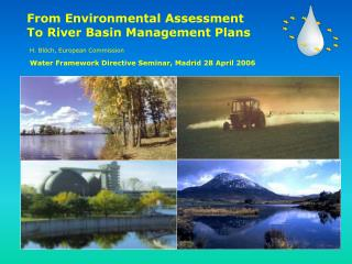 From Environmental Assessment  To River Basin Management Plans