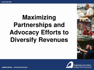 Maximizing Partnerships and Advocacy Efforts to Diversify Revenues