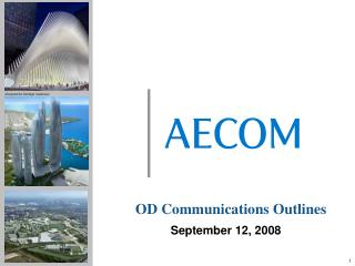 OD Communications Outlines