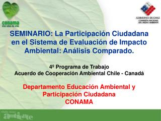 Ley 19.300 y Participación Ciudadana (1)