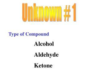 Unknown # 1