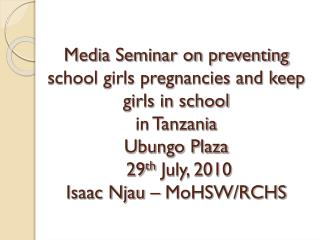 Situation of Adolescent Health