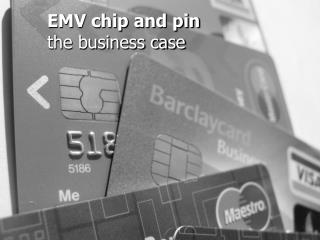 EMV chip and pin the business case