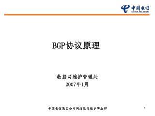 BGP 协议原理