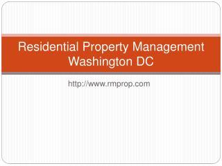 RM Property Management DC