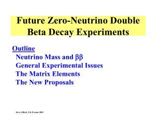 Future Zero-Neutrino Double Beta Decay Experiments