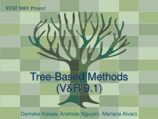 Tree-Based Methods VR 9.1