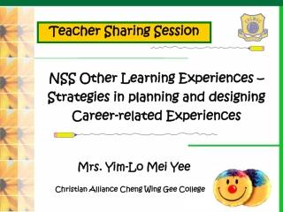 NSS Understanding and Interpreting the Economics Curriculum