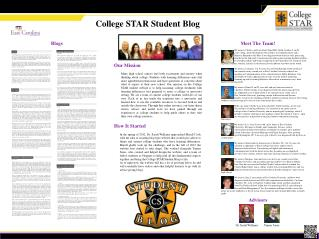 College STAR Student Blog