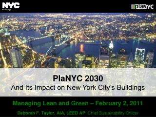 Managing Lean and Green – February 2, 2011