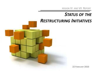 Status of the Restructuring Initiatives