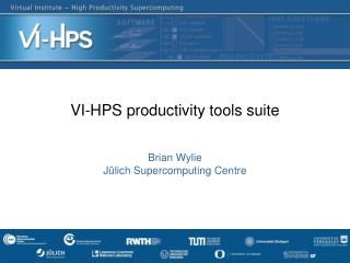 VI-HPS productivity tools suite