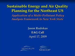 Jason Rudokas EAG Call April 17, 2009