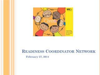 Readiness Coordinator Network